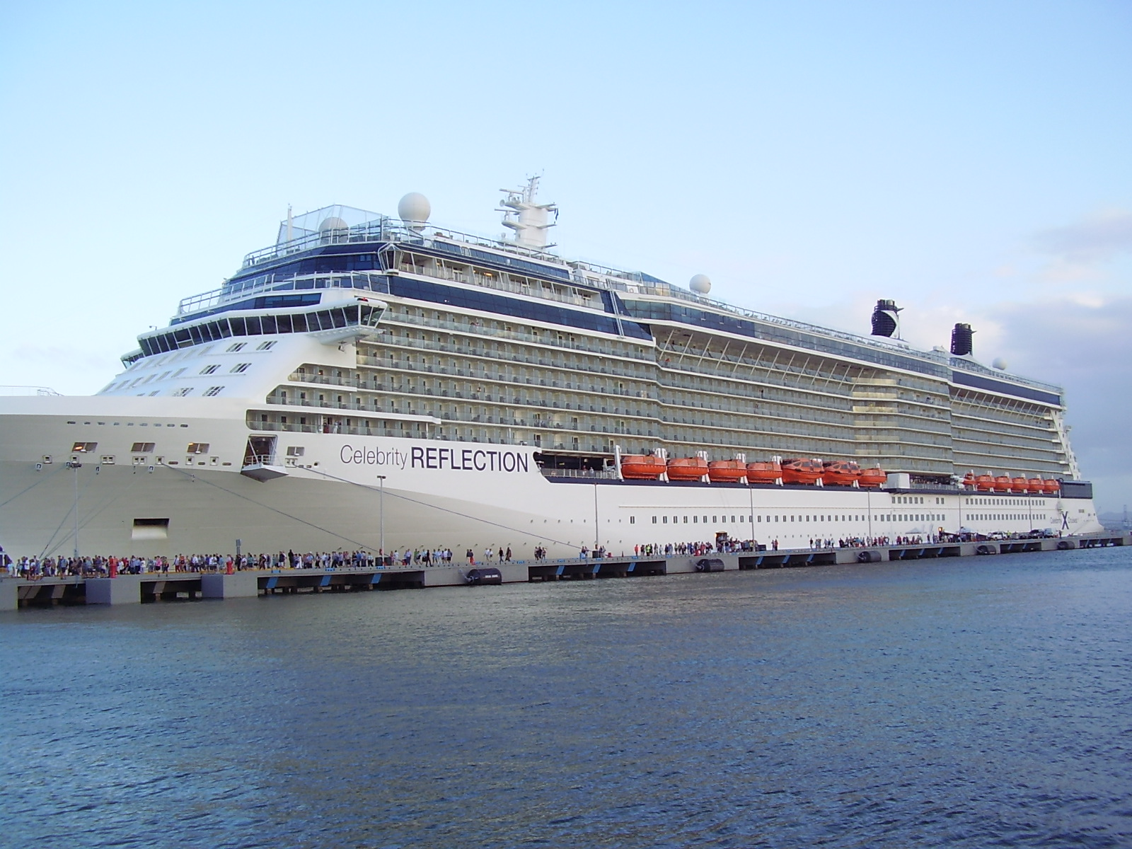 Celebrity Reflection, Western Caribbean from Fort ...