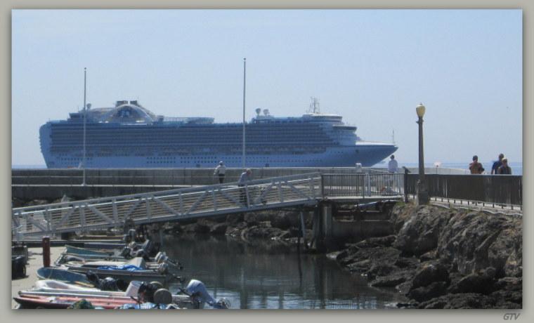 Crown Princess Cruise Review Apr 26 2014 California