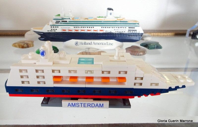 Lego Model Of The Ms Amsterdam Cruise Forum - Model cruise ship kits