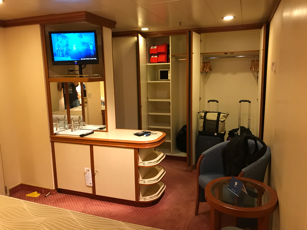 Interior Stateroom on Grand Princess