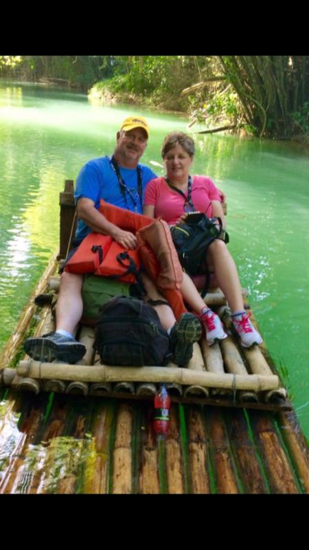 Our  Jamaica river trip!