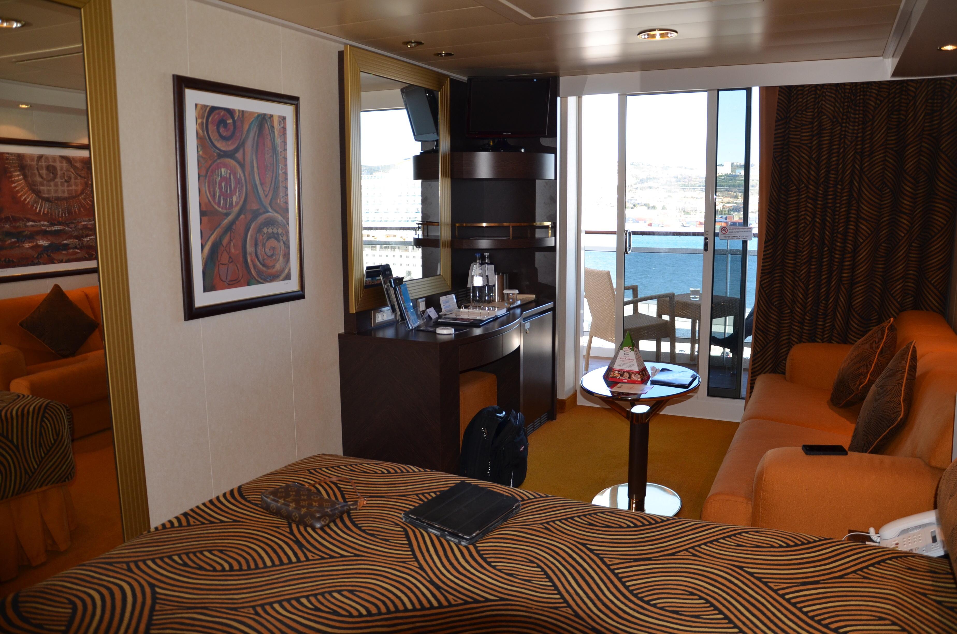 Balcony Stateroom, Cabin Category BW, MSC Splendida