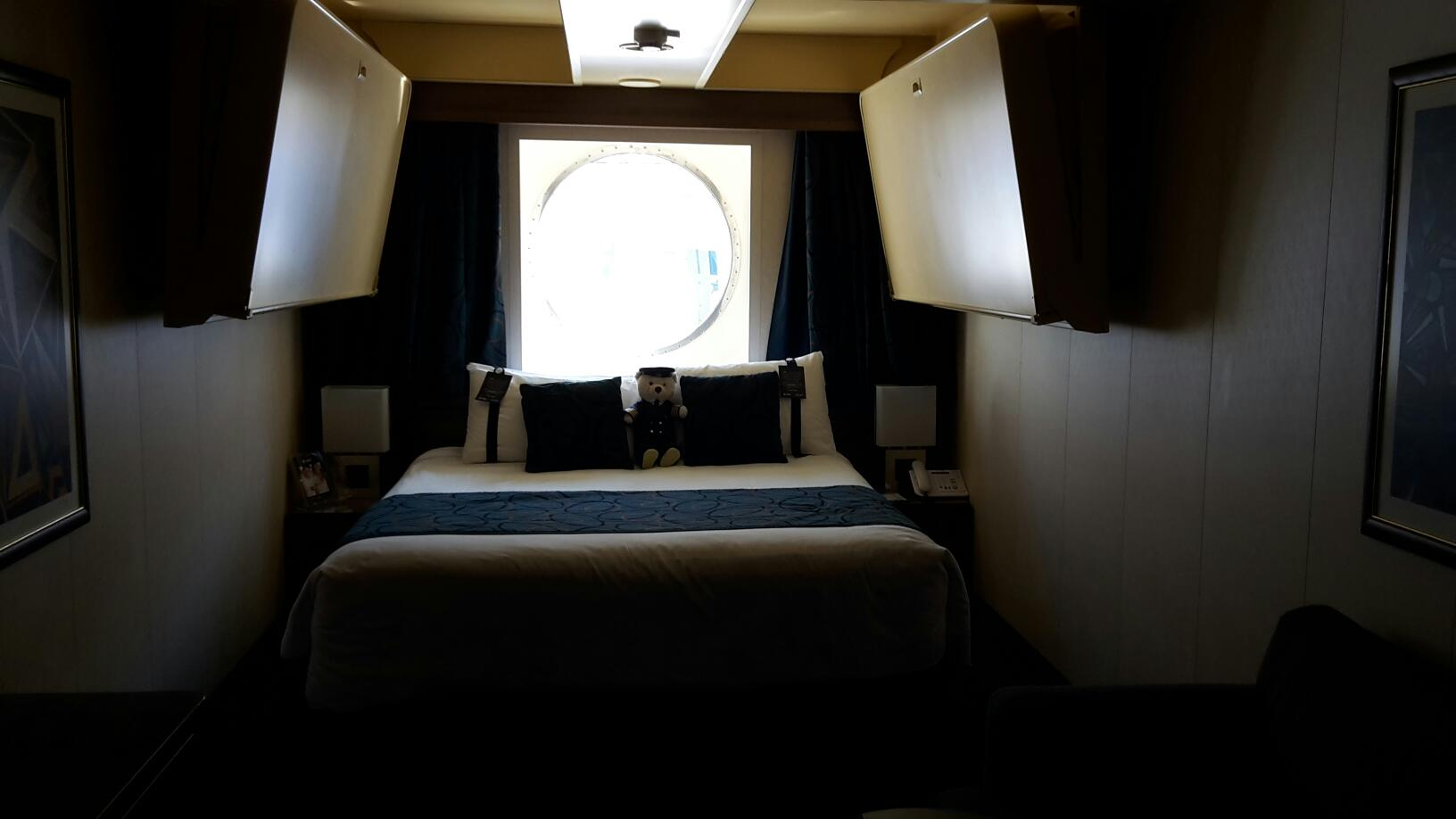 Oceanview Stateroom, Cabin Category O1, MSC Fantasia