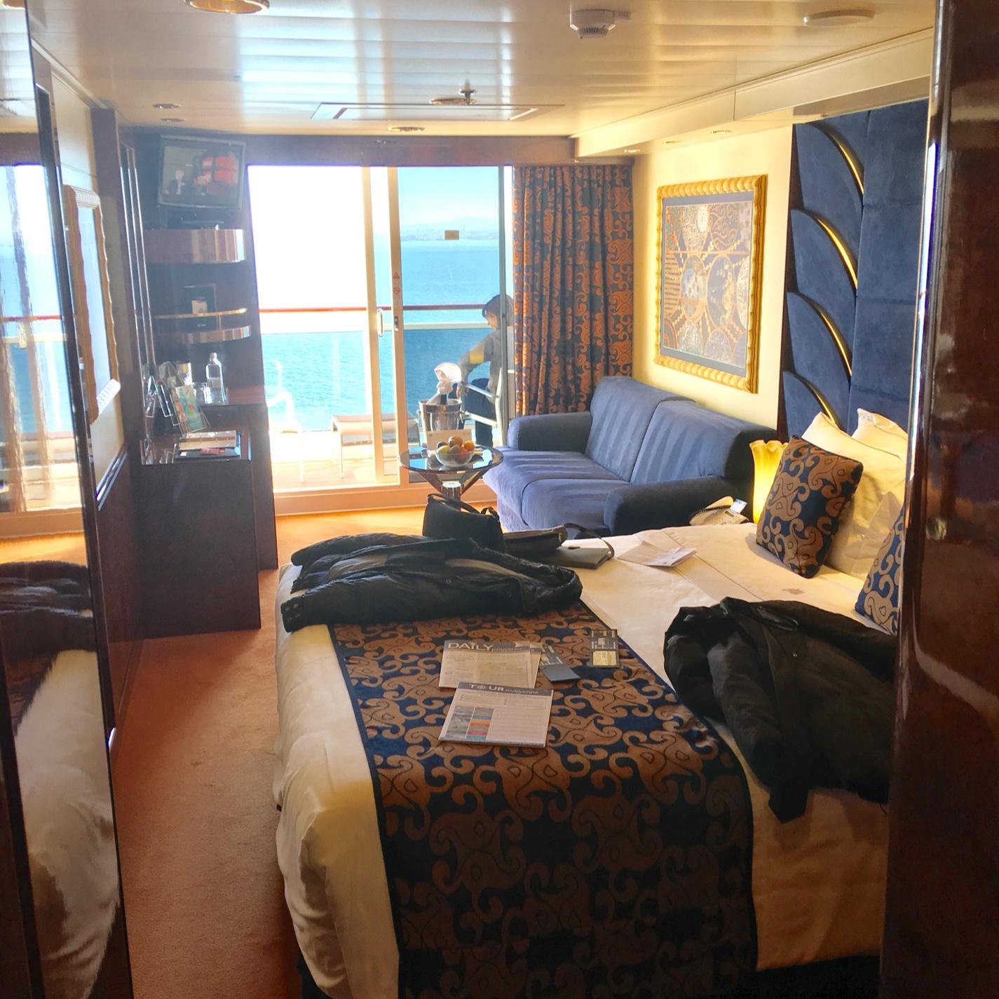 Deluxe Suite, Cabin Category 1Y, MSC Splendida