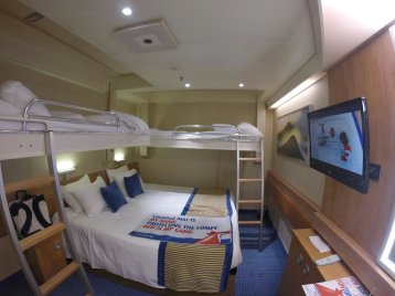 Interior Stateroom on Carnival Sunshine