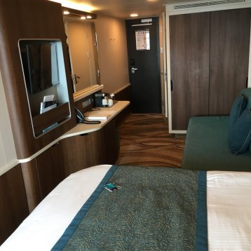 Aft-Facing Balcony Stateroom on Norwegian Escape