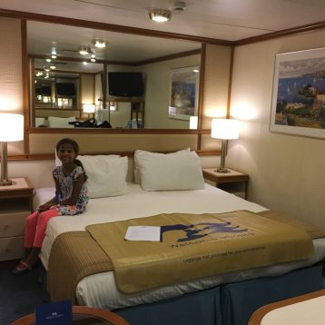 Caribbean princess cabins and staterooms for Princess cruise interior cabin