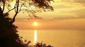 Sonnenuntergang in Warnemnde