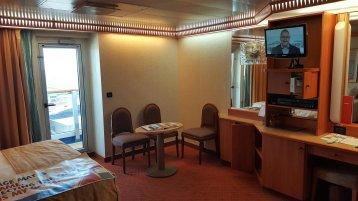 Premium Balcony Stateroom on Carnival Liberty