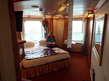 Premium Vista Balcony Stateroom on Carnival Conquest
