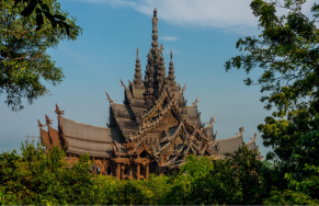 Sanctuary of Truth, well worth a visit