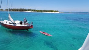 Snorkeling site in Noumea, New Caledonia