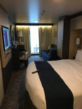 Superior Oceanview Stateroom with Balcony on Anthem of the Seas