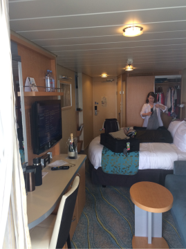 Superior Stateroom with Balcony on Allure of the Seas