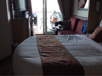 Deluxe Veranda Stateroom (Obstructed View) on Celebrity Reflection