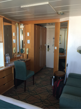 Large Oceanview Stateroom on Grandeur of the Seas