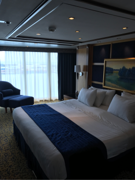 Royal Suite with Balcony on Serenade of the Seas
