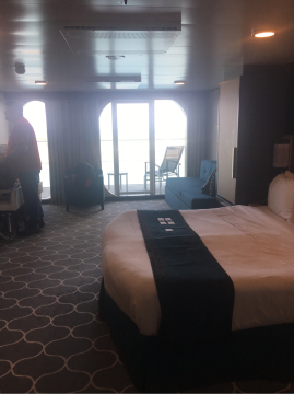 Family Oceanview Stateroom with Balcony on Harmony of the Seas
