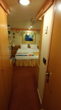 Interior Stateroom on Carnival Conquest