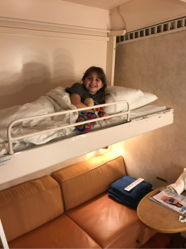 Balcony Stateroom on Carnival Pride