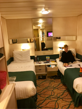Large Interior Stateroom on Rhapsody of the Seas