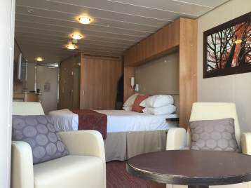 Oceanview Stateroom on Celebrity Eclipse