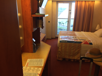 Extended Balcony Stateroom on Carnival Miracle