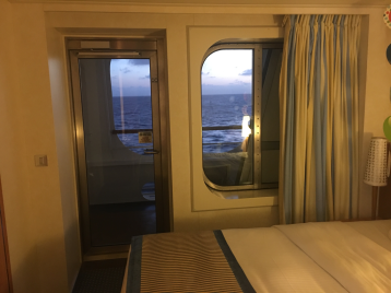 Cove Balcony Stateroom on Carnival Breeze
