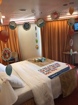 Premium Vista Balcony Stateroom on Carnival Valor