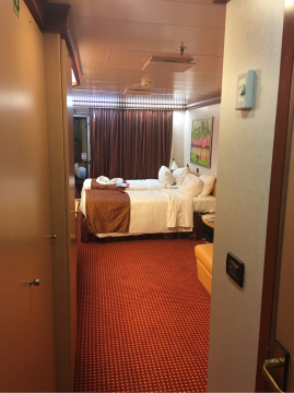 Aft-View Extended Balcony Stateroom on Carnival Dream