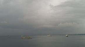 Guantanamo Bay Honiara.Taiwanese naval ship