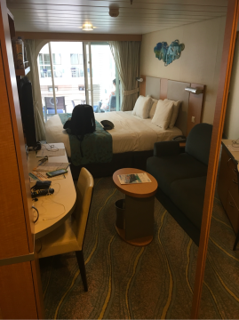 Boardwalk View Stateroom with Balcony on Allure of the Seas