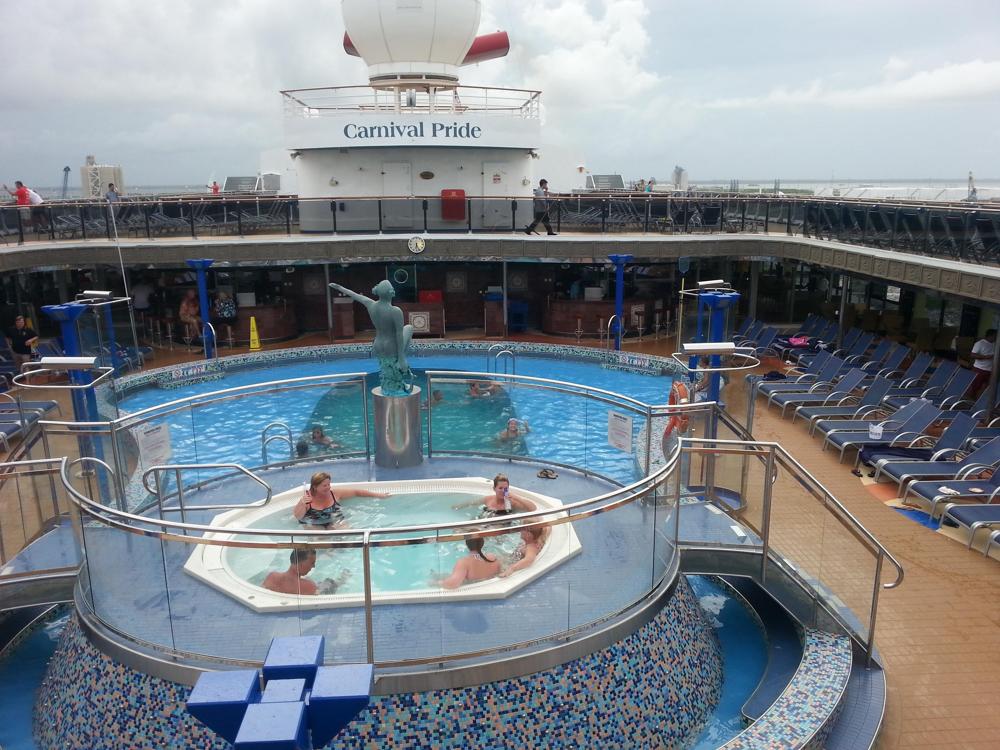 Bahama Cruise Carnival Pride Cruise Review
