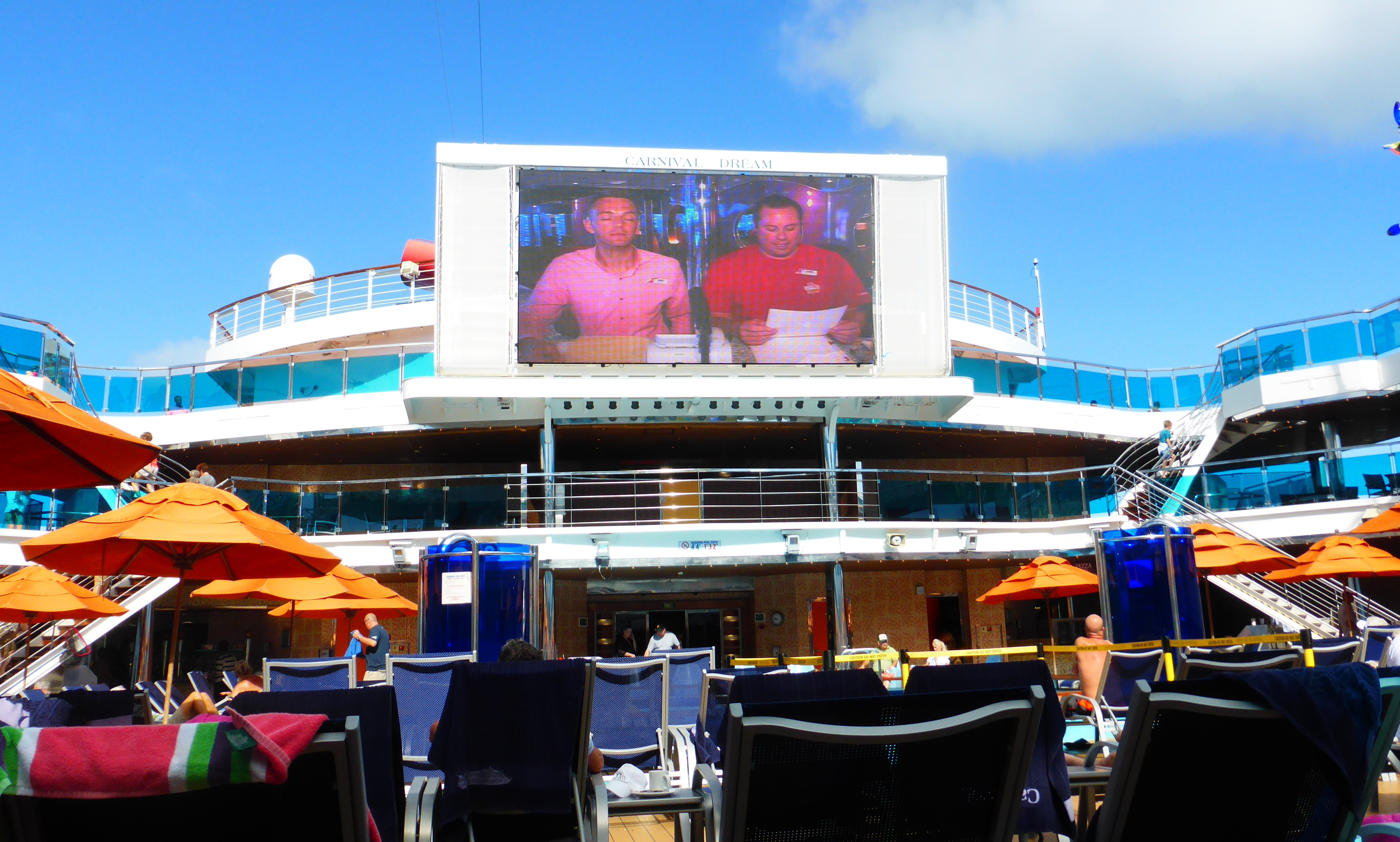 A Quot Dream Quot Cruise Carnival Dream Cruise Review