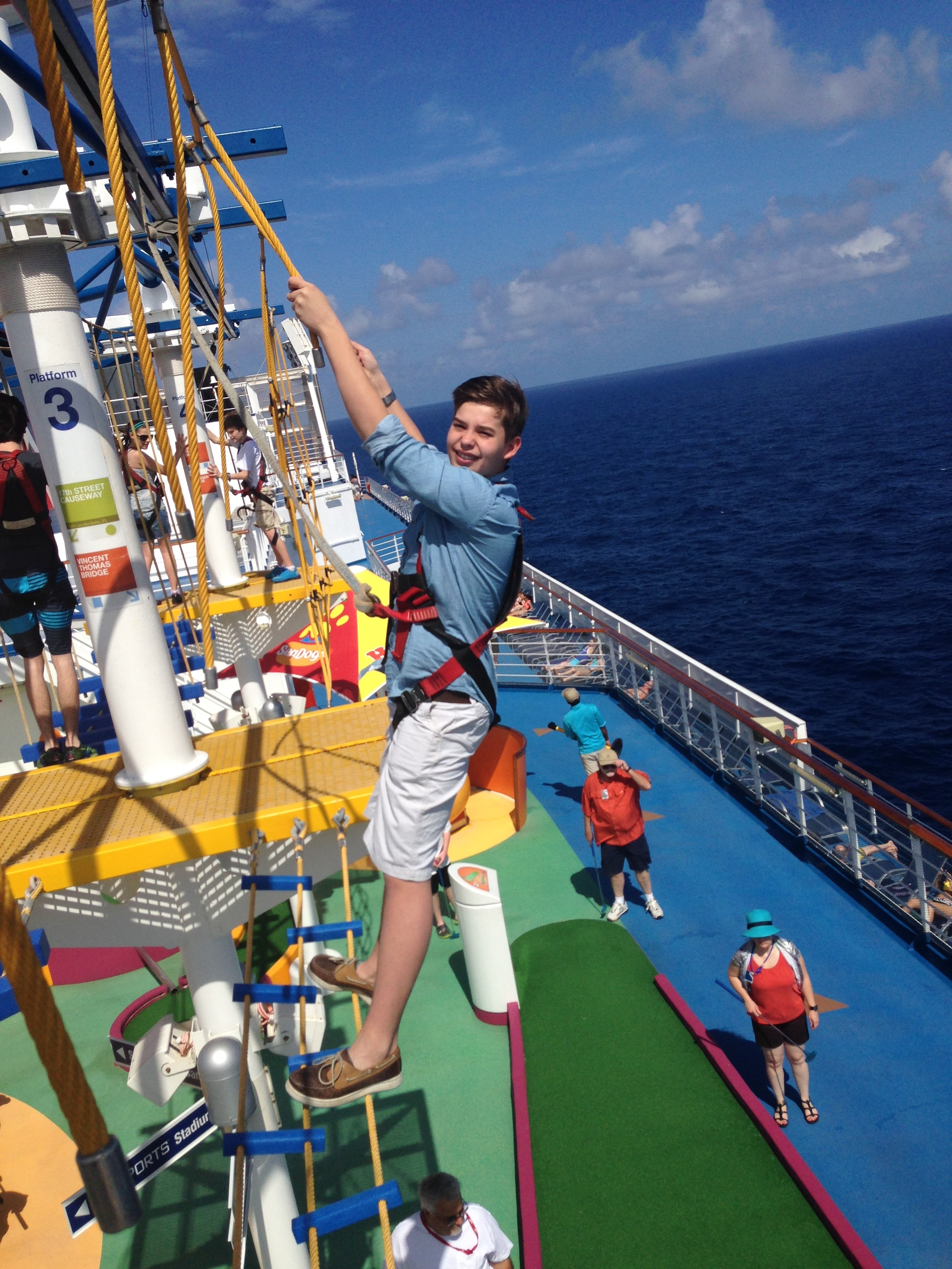 Great Itinerary Great Service Carnival Magic Cruise