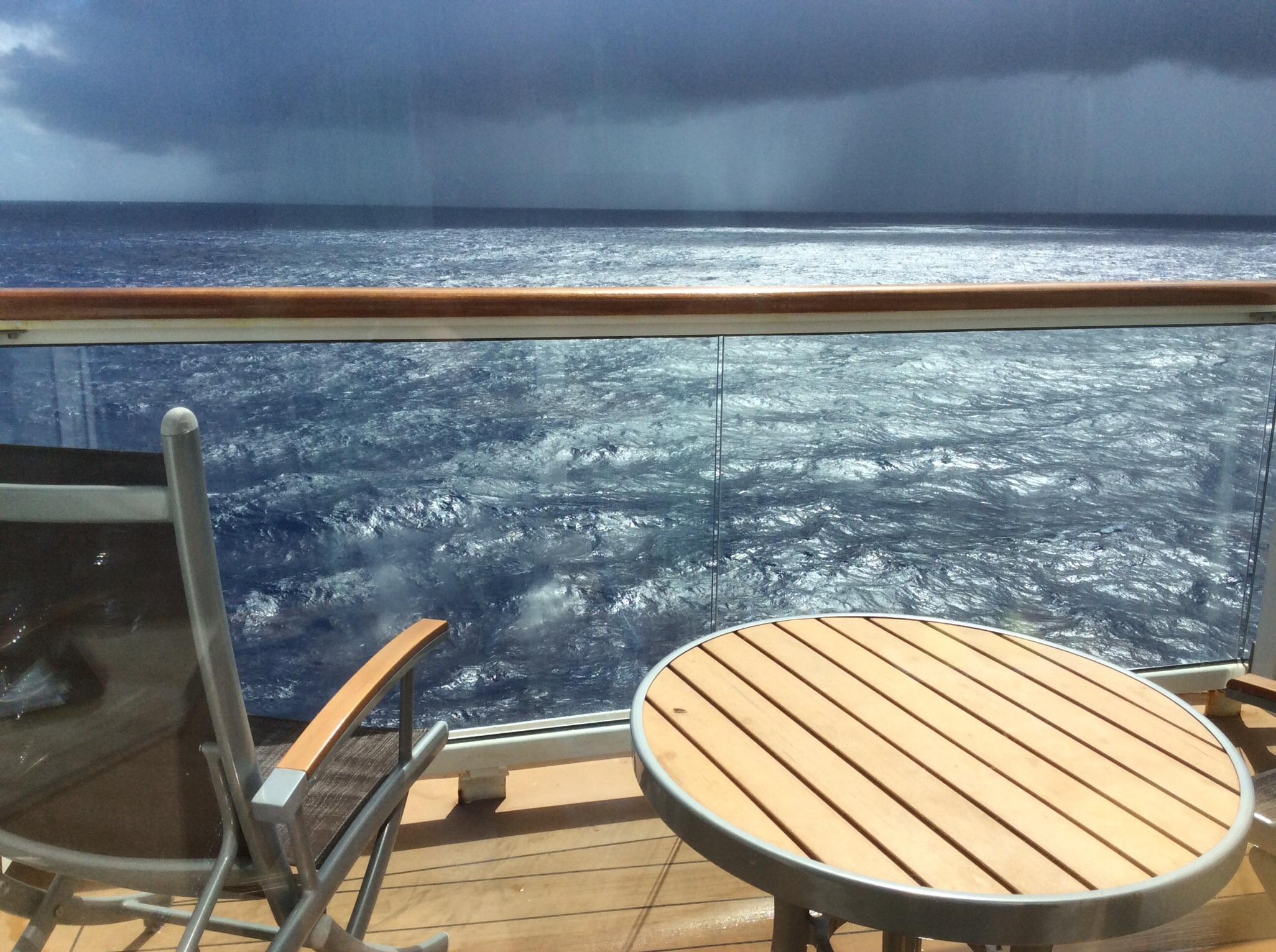 Celebrity summit cruise review jul 12 2015 expected for Cruise ship balcony view