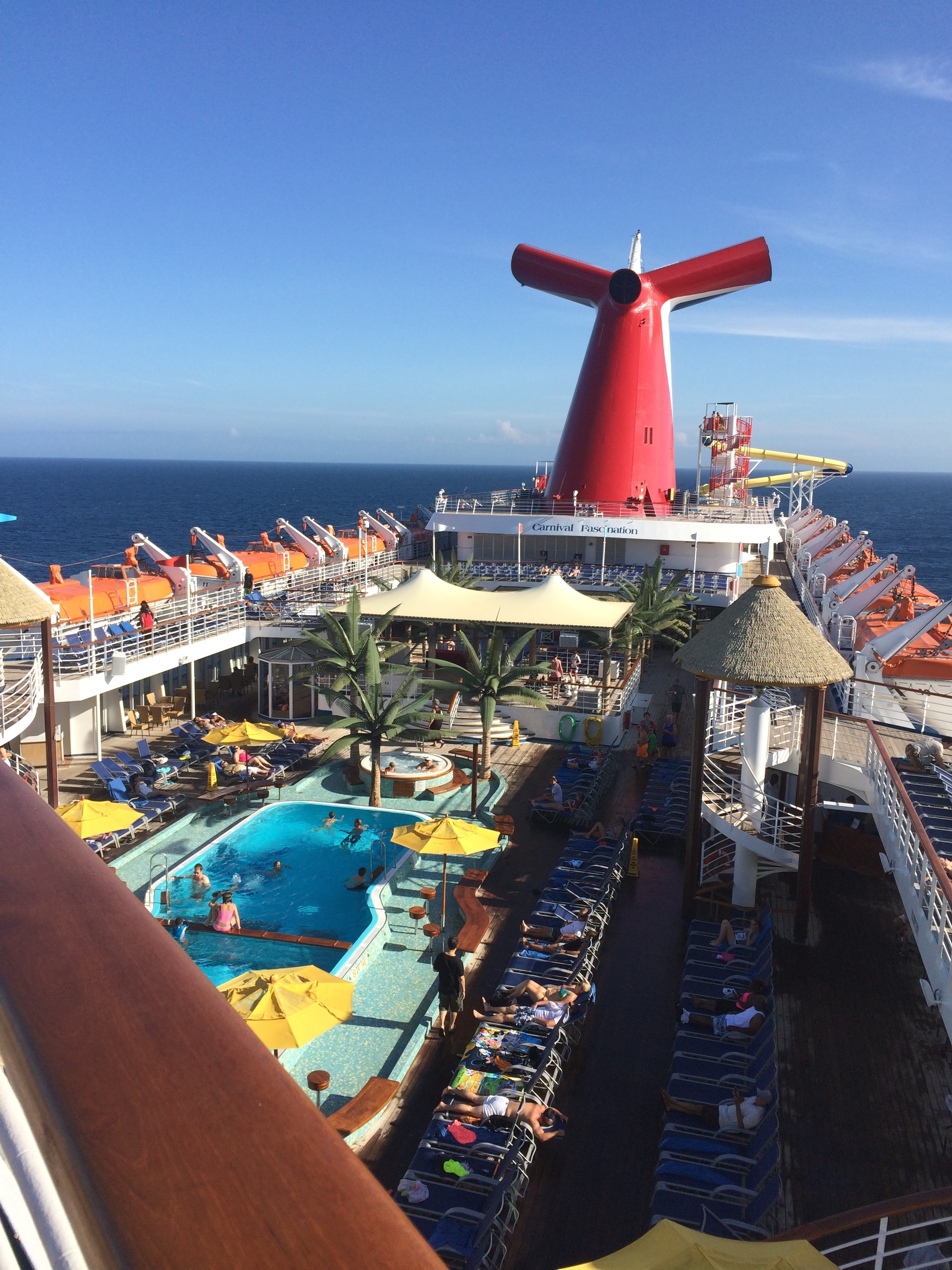 Two Happy Newlyweds Carnival Fascination Cruise Review