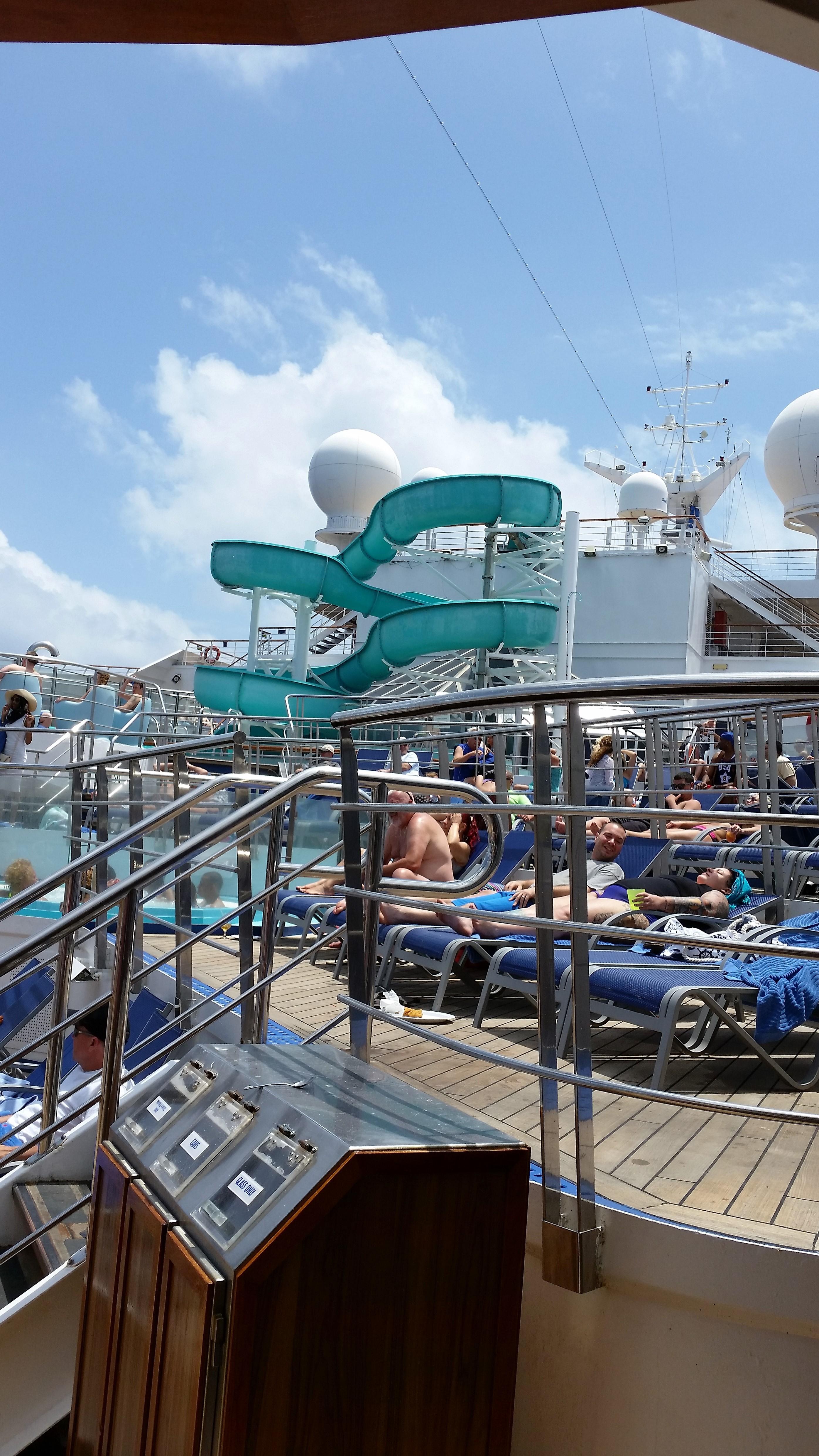 Water slide (Lido deck)
