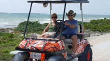 Costa Maya cart day