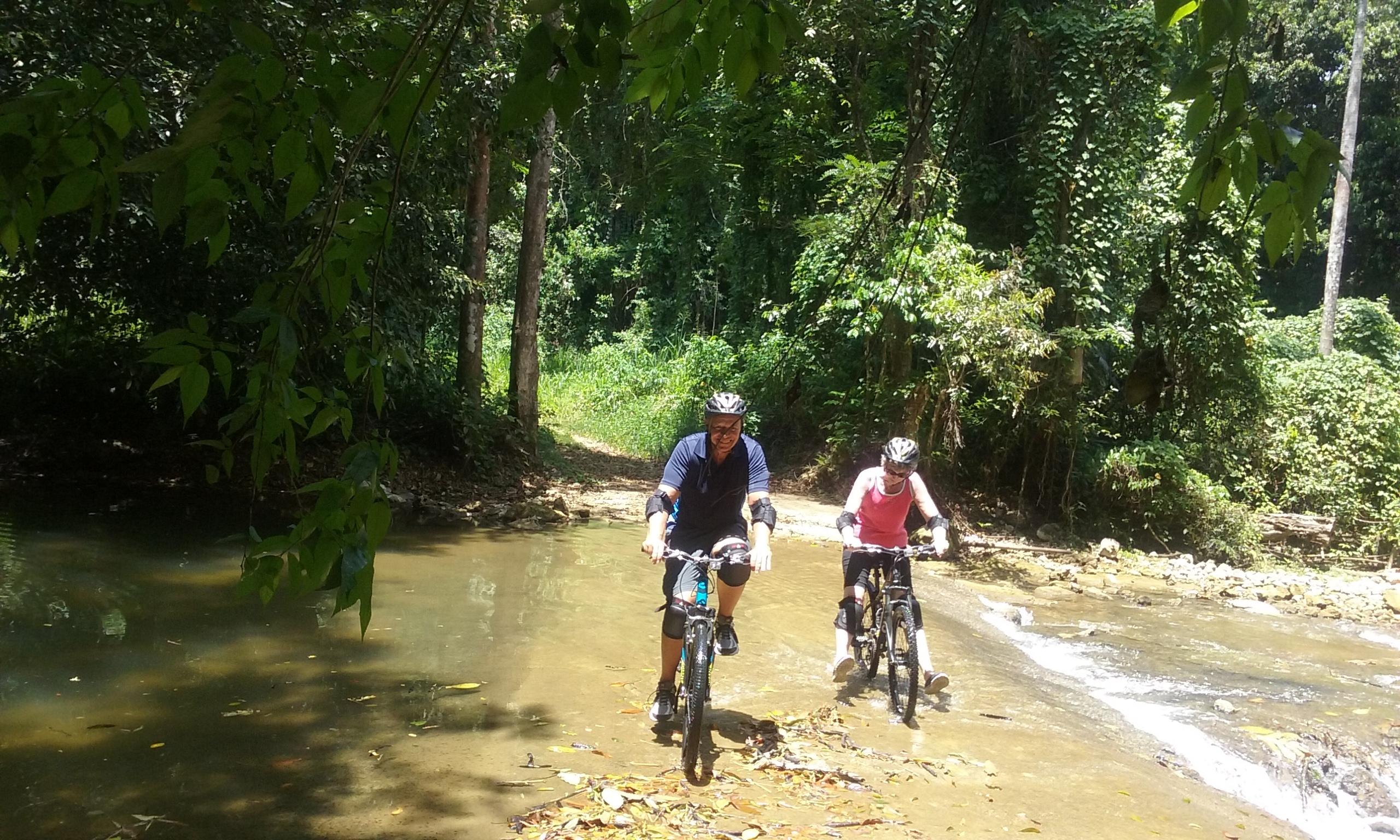 Mountain biking in Jamaica