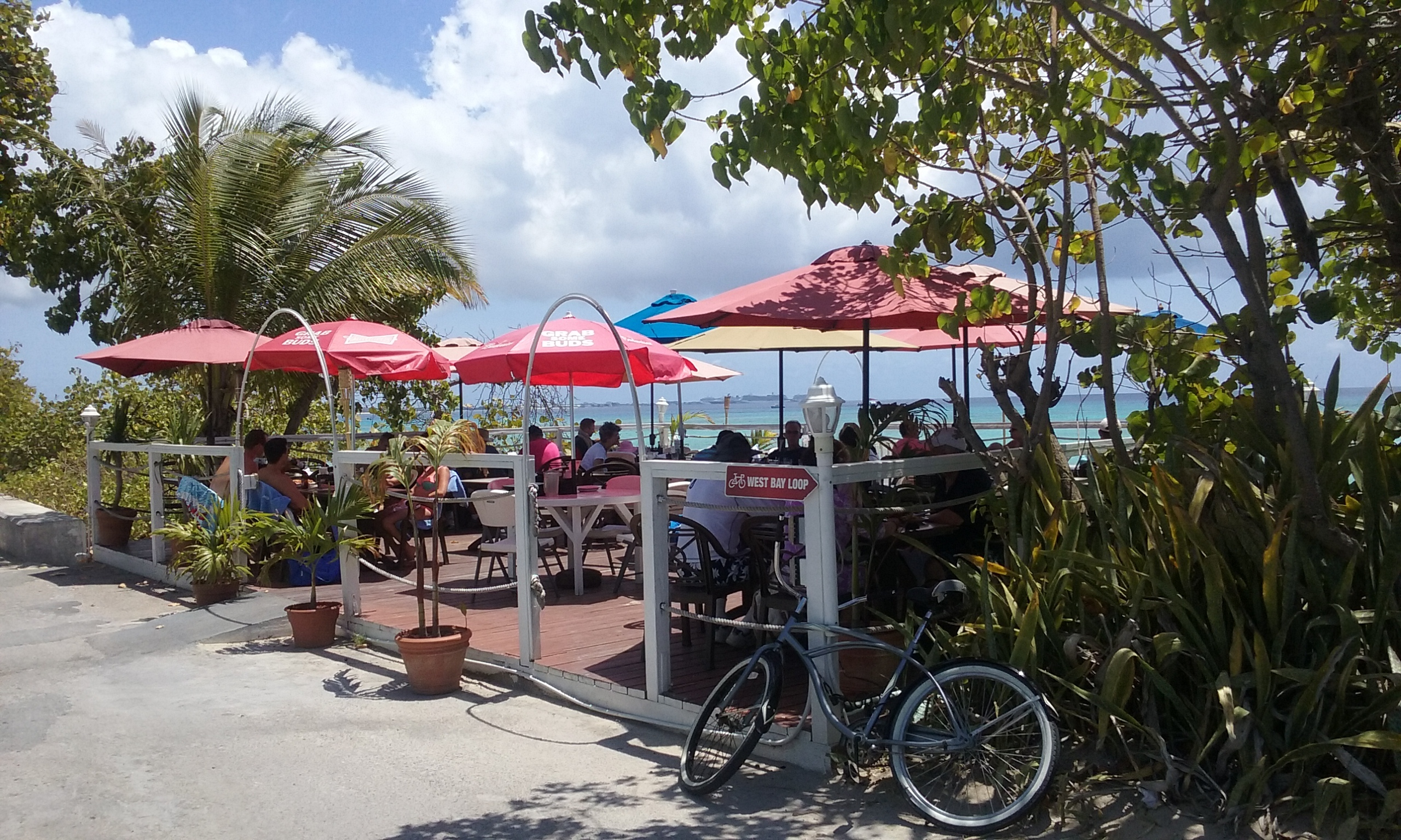 Lunch in the Caymans