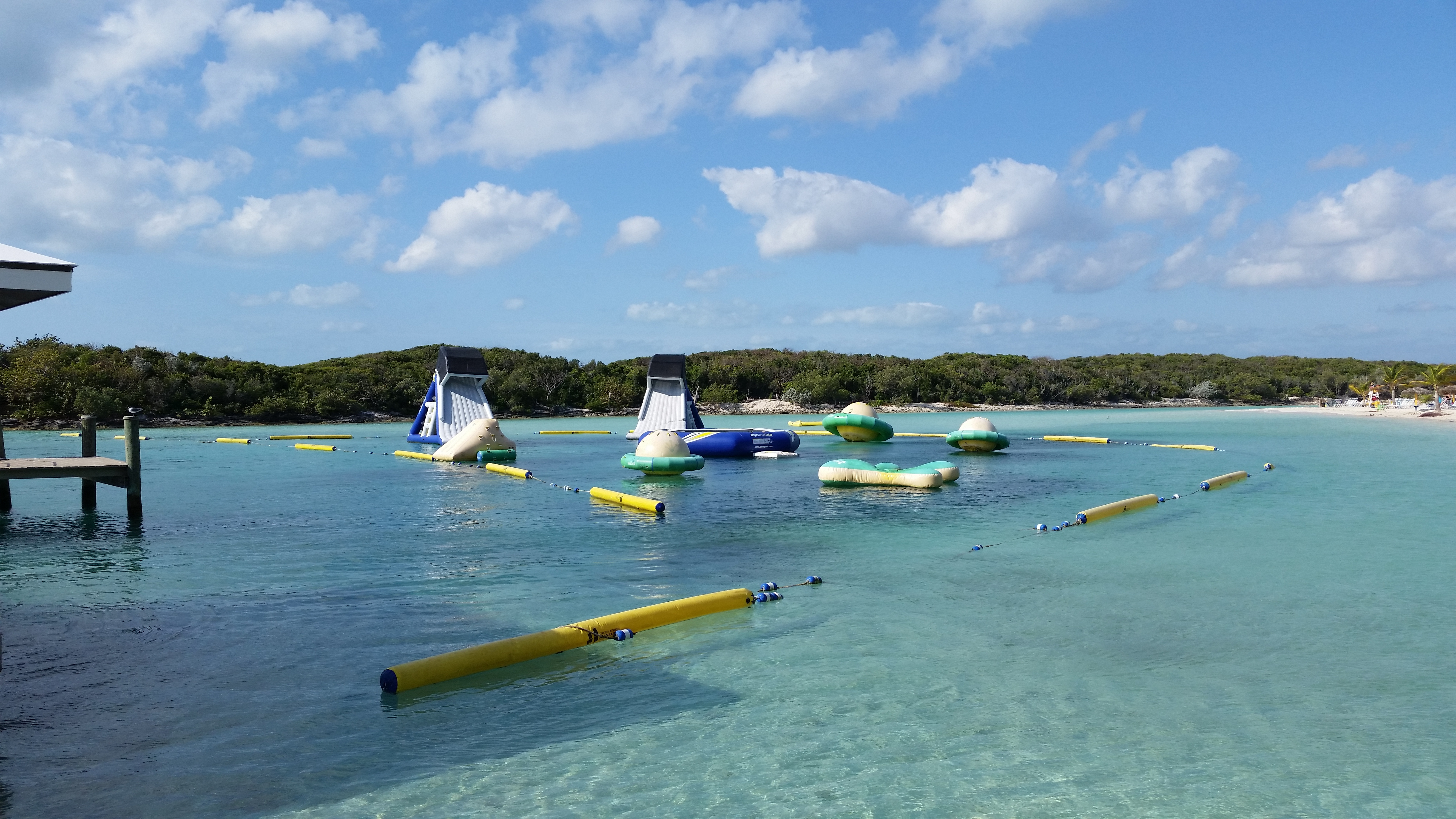 Blue lagoon play area