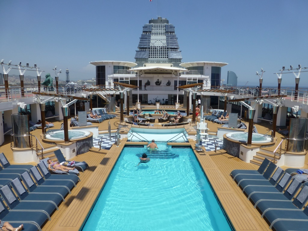 Image result for celebrity constellation main pool