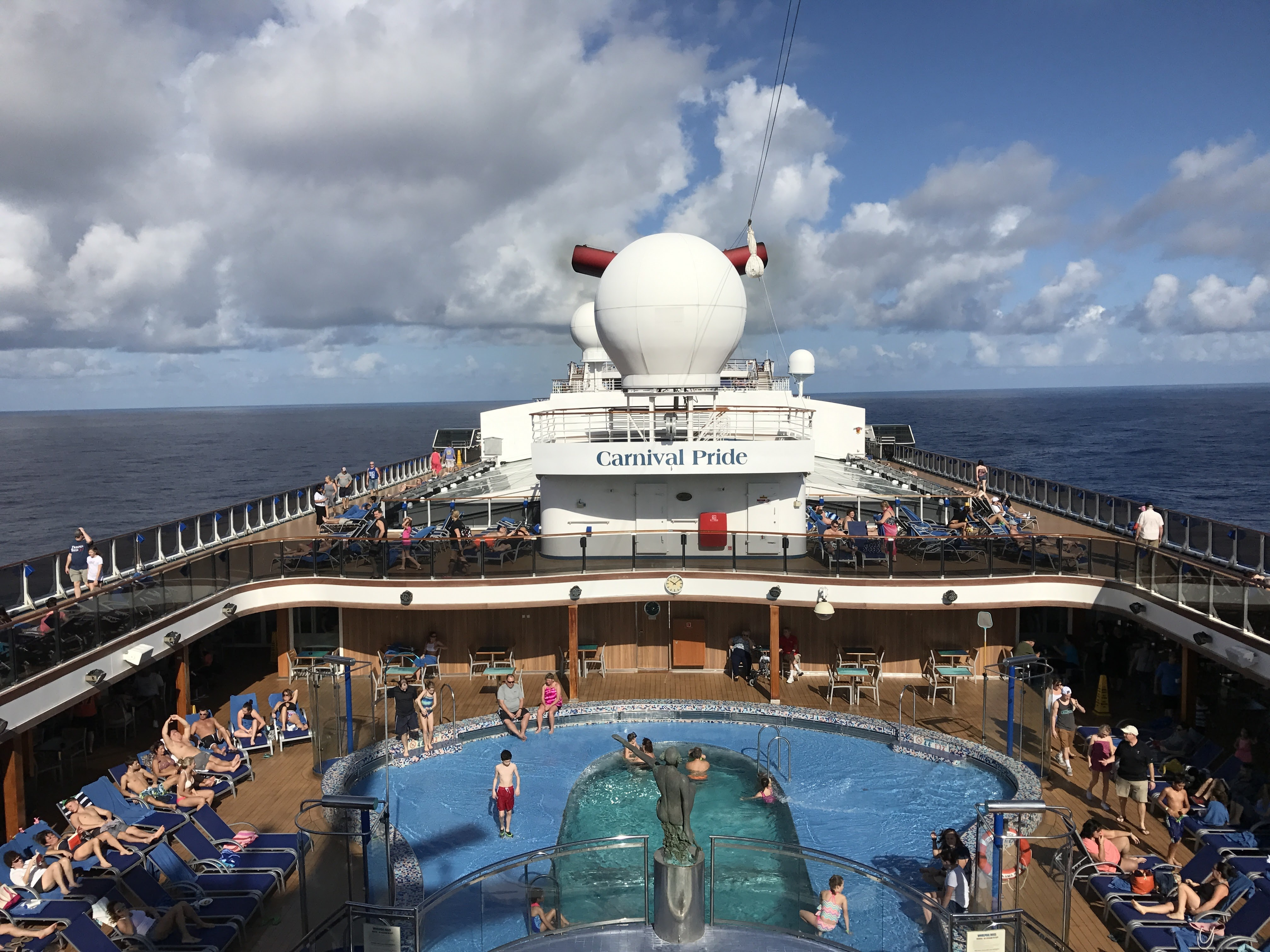A Great Holiday Cruise Carnival Pride Cruise Review