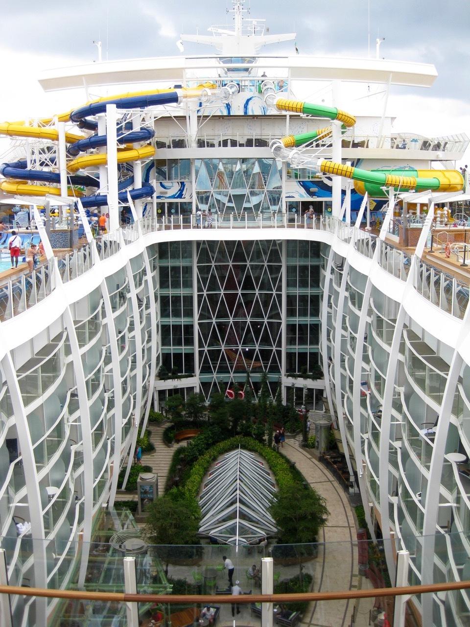 Harmony Of The Seas Sailed 4 22 17 Boardwalk Harmony Of The Seas Cruise Review