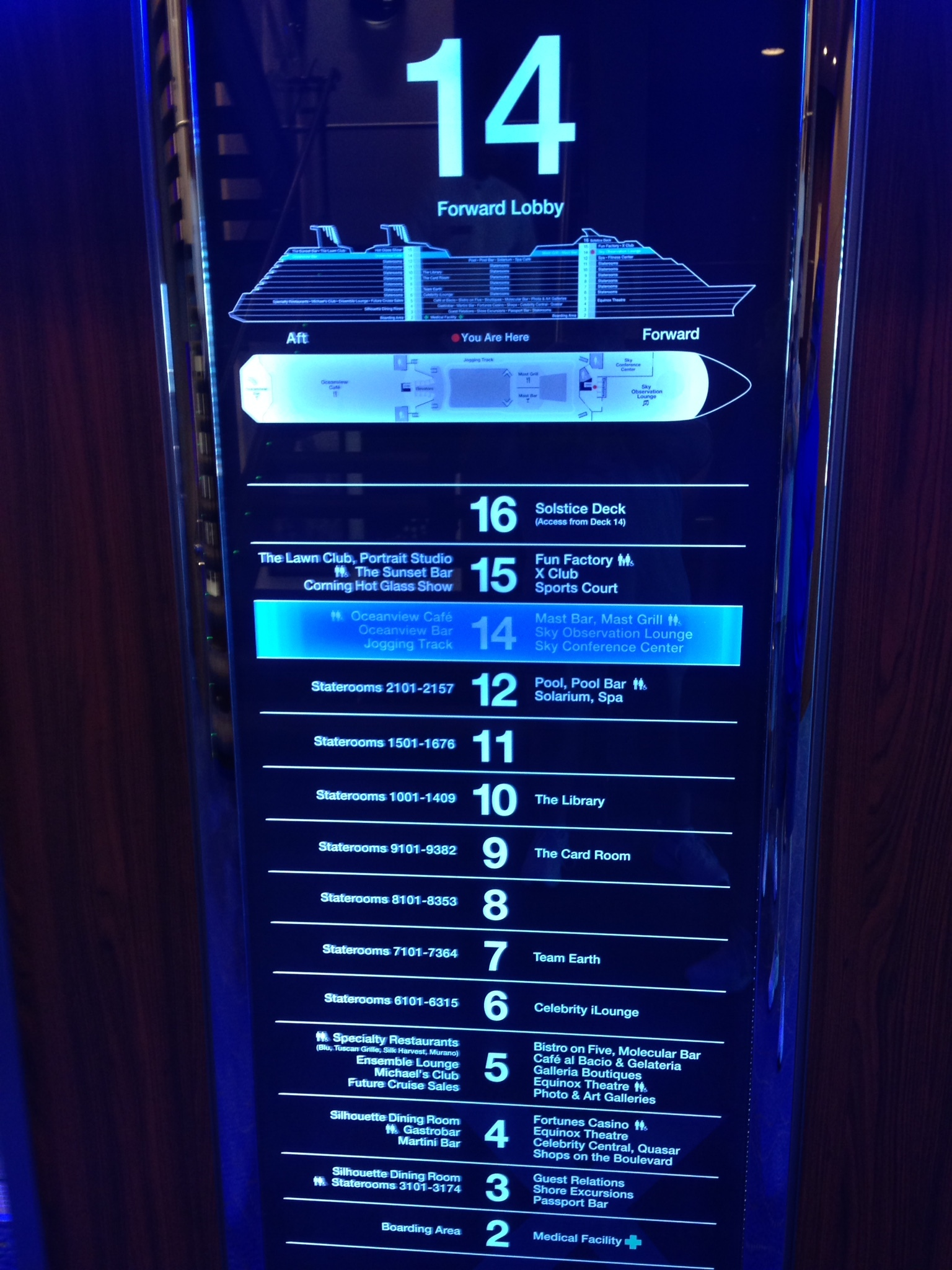Celebrity Equinox Cruise Review Mar 16 2015 Loved the