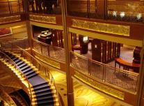 Atrium on Disney Wonder