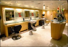 Beauty Salon on Legend of the Seas
