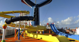 Carnival Waterworks on Carnival Ecstasy