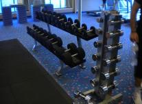 Fitness Center/Aerobics Studio on Carnival Pride